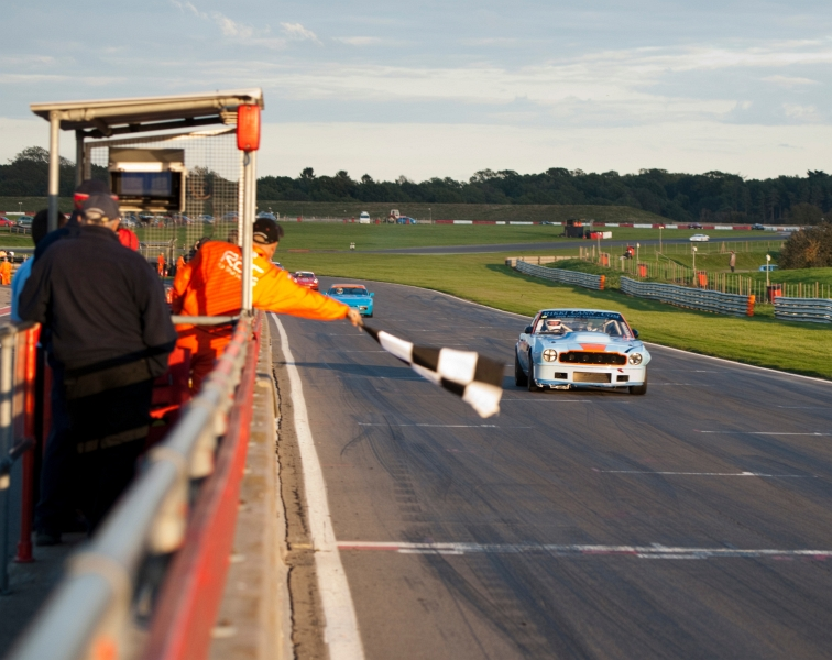 360 MRC 6 hour race at Snetterton outright winners