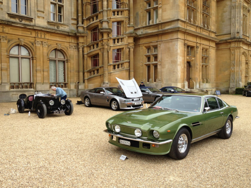 Two more of our concours winners, the Le-mans and the fliptail vantage.