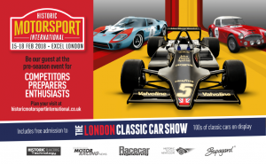 London Classic Car Show 2018 Stand 206